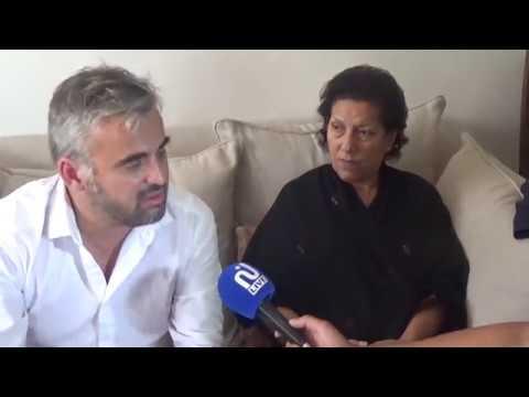 Alexis Corbière à Tunis pour soutenir Radhia Nasraoui 15/08