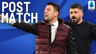 Napoli 1-3 Milan | Gattuso & Bonera Post Match Press Conference