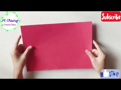 How to make paper knife | DIY paper toy knife