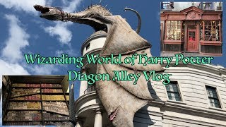 Wizarding World of Harry Potter Vlog - Diagon Alley