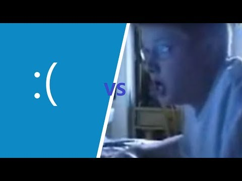 Angry German VS. BLUESCREEN?!
