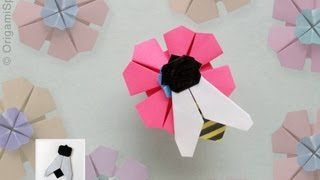 Easy Origami Fly / Bee :: Mosca / Abeja
