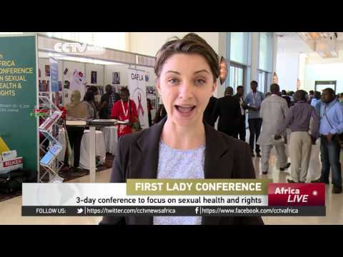 First lady conference: 3-day conference to focus on sexual health and rights