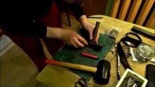 Как шить кожаную сумку.(Мастер класс от Маши., 2015-06-18T22:56:04.000Z)