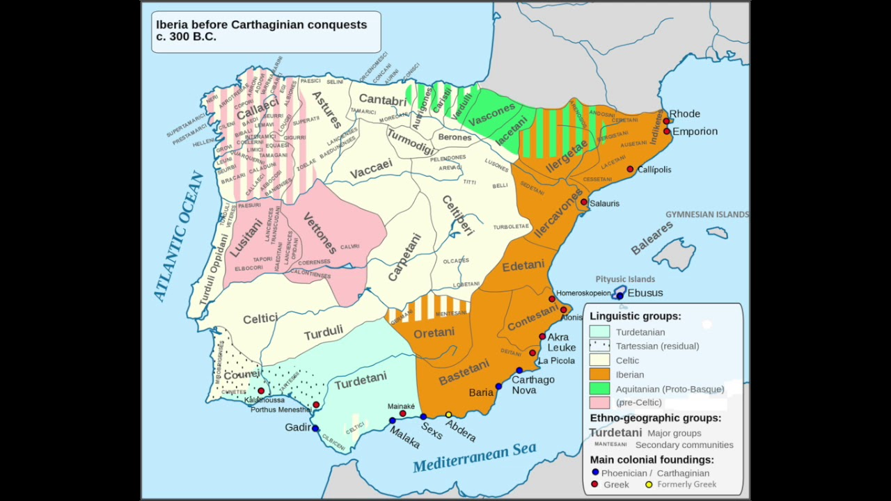 Second Iron Age: Iberians, Celts and other Pre-Roman peoples