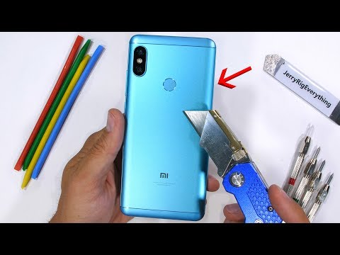 Note 5 Pro Durability Test! - Scratch Burn and BEND tested!