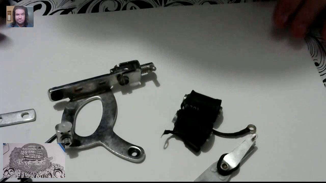 tattoo machine assembly gopro  [ 1280 x 720 Pixel ]