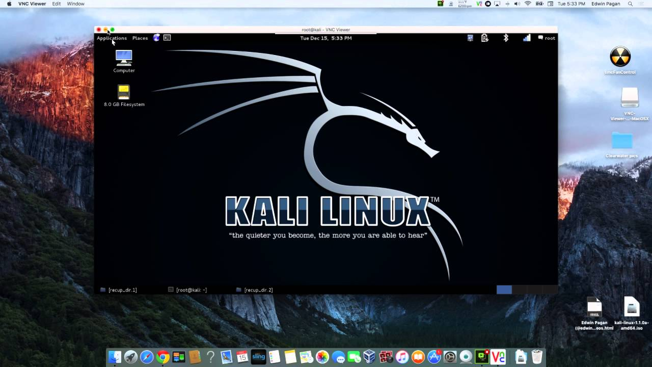 How To Remote Into Kali