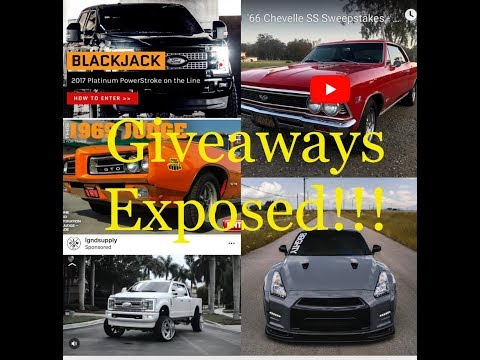 Exposed?? 80Eighty, Dream, Omaze, RestoMods, SPDConcepts, Diesel Power Gear, PrimeDriven And LGND2.