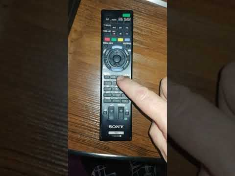 Sony Перевод телевизора в расширенный режим (Hotel/Pro mode)