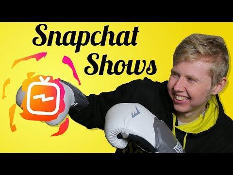 Snapchat Shows (Introducing Snap Originals)