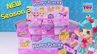 Shopkins Happy Places Season 3 Blind Bag Opening Toy Review | PSToyReviews