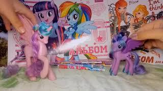 Обзор My Little Pony канцелярии