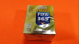 APERTURA BOX 50 BUSTINE FIFA 365 2019 Stickers