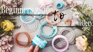 Beginners guide to RESIN JEWELLERY/ tips and tricks
