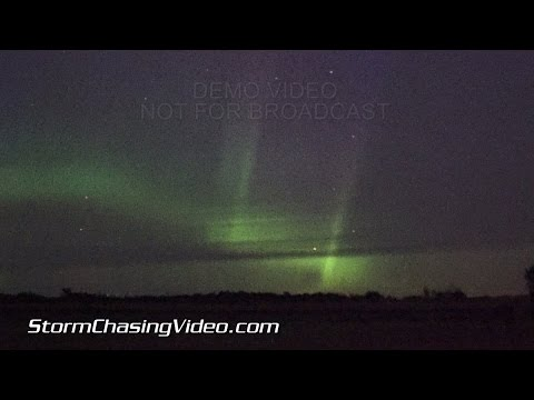 8/26/2015 Benton County, MN Aurora Borealis Footage in Real Time