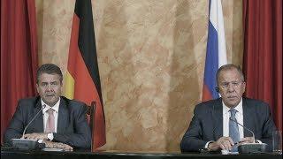 Пресс-конференция С.Лаврова и З.Габриэля