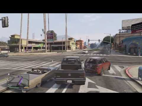 GTA V Walkthrough Part 33- Suit up and Steal Big Trucks!