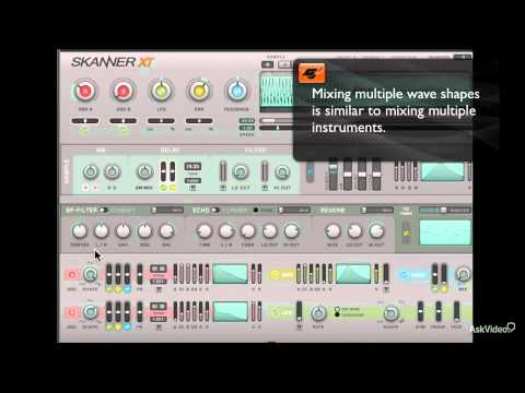 Native Instruments 212: Skanner XT - 24. Creating a Synth Pad - Part 2