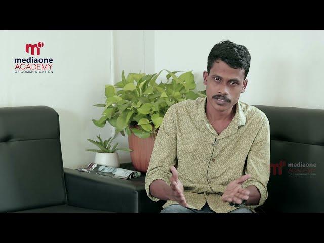 Testimonial Video   Ajas Shanavas   Mediaone Academy