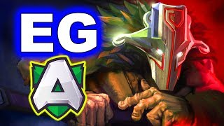 eg vs alliance amazing game esl one birmingham 2019 dota 2