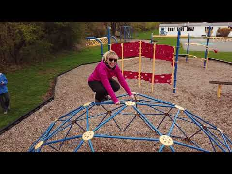 Hatherly Elementary School, Scituate MA, Drones in the Playground