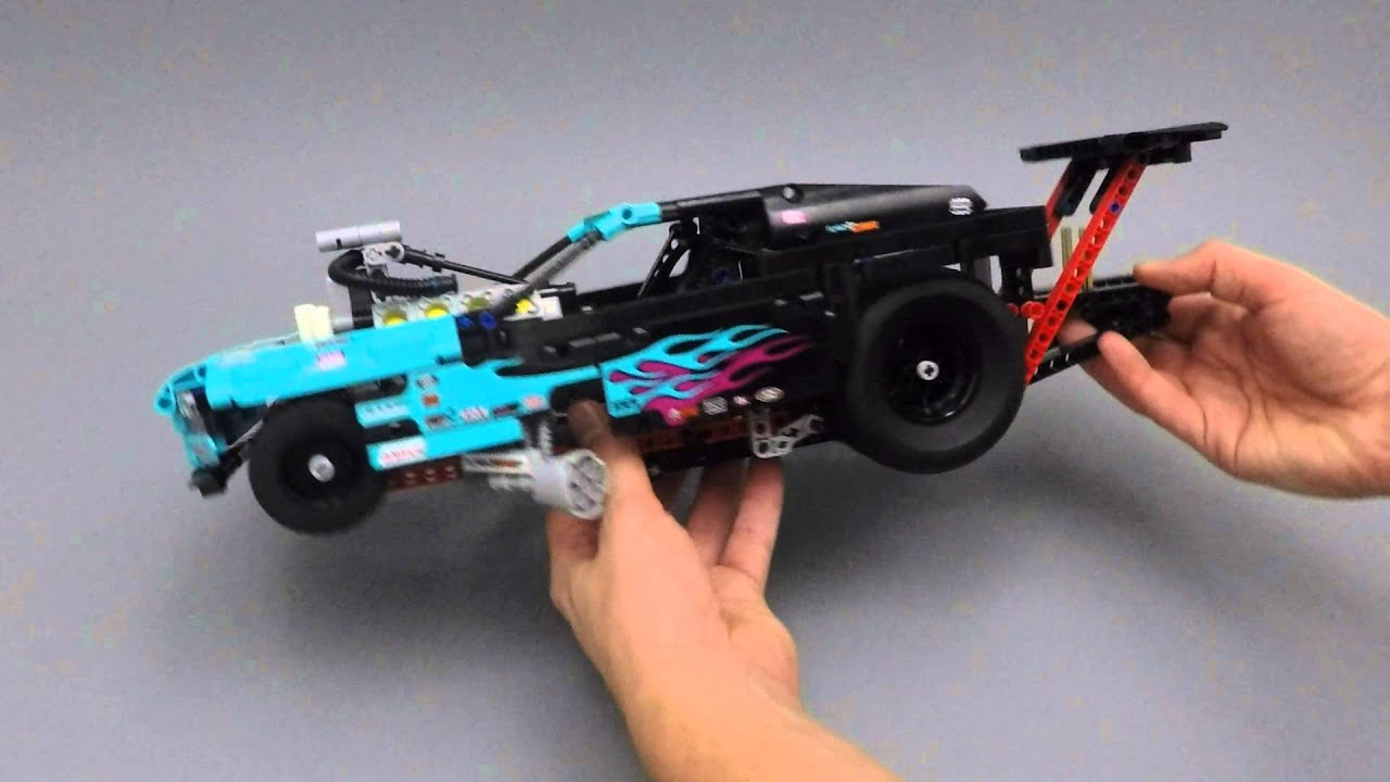 LEGO Technic - 42050 - Drag Racer - Model Overview - YouTube