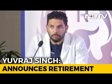 """Time To Move On,"" Says Yuvraj Singh, Announces Retirement"