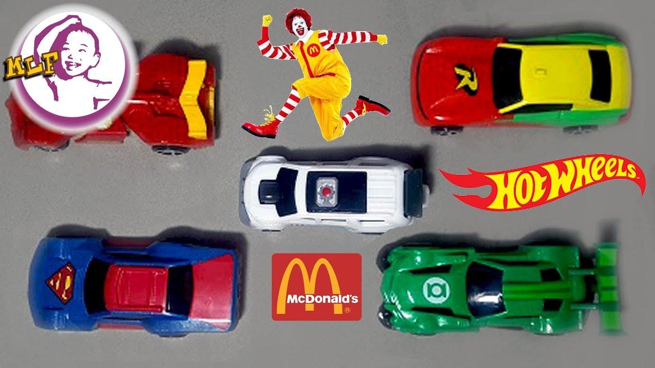 超級英雄麥當勞玩具車 - YouTube