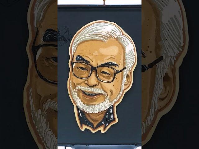 Happy Birthday Hayao Miyazaki! | Pancake Art Tribute #Shorts