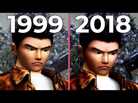 Shenmue – Dreamcast (1999) vs. PS4 HD-Port (2018) Graphics Comparison
