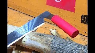 Tomruk Yontma Bıçağı 🔪 Yapımı!!