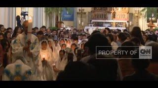 Misa Suci Malam Paskah di Katedral Jakarta