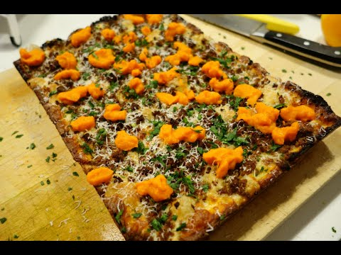 Would You Try It: Lamb Sausage & Carrot Detroit Pizza