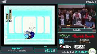 Awesome Games Done Quick 2015 - Part 106 - Mega Man X3 by ThatAintFalco
