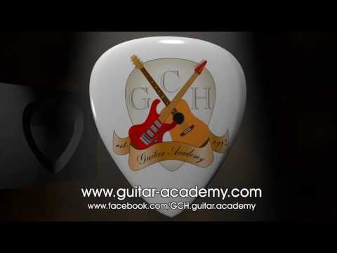 GCH Guitar Academy. YouTube channel introduction.