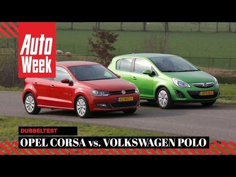 Occasion Dubbeltest - Opel Corsa 1.4 aut. vs VW Polo 1.2 TSI AutoWeek review