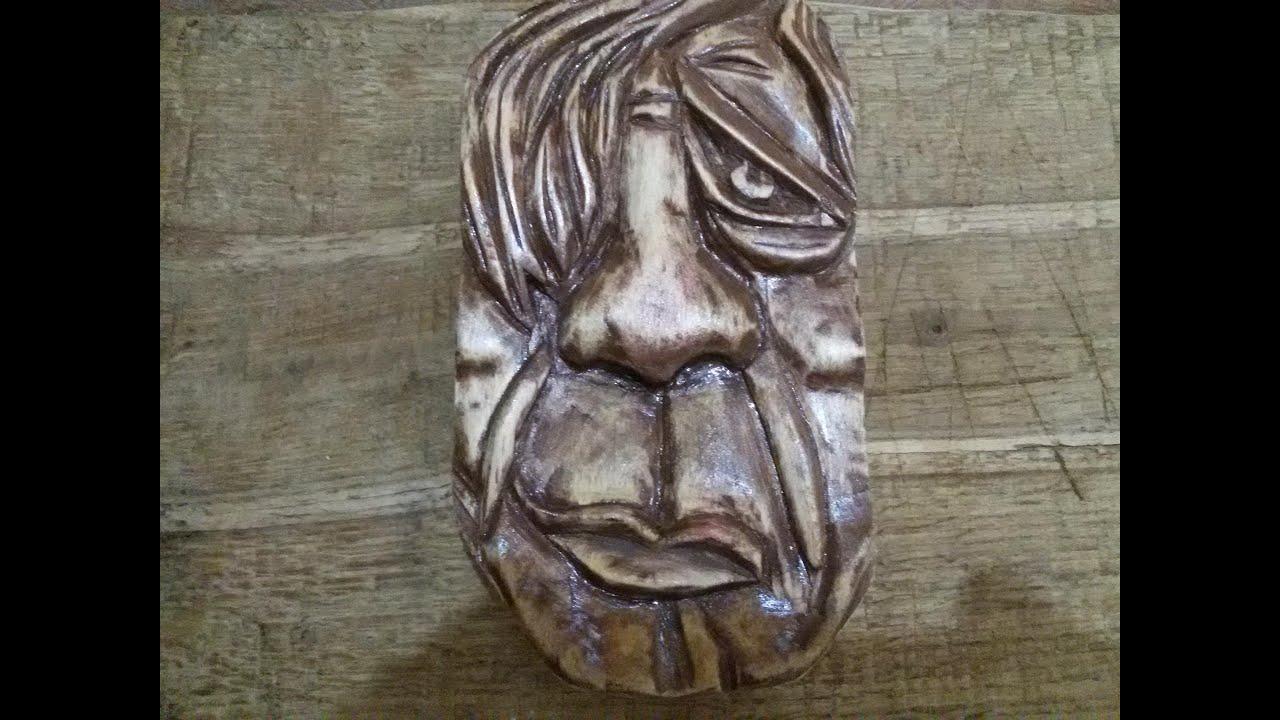 маски резные из дерева фото