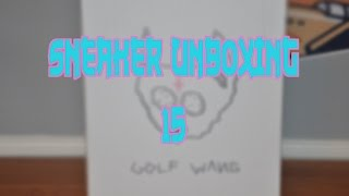 Another Sneaker Unboxing: Odd Future