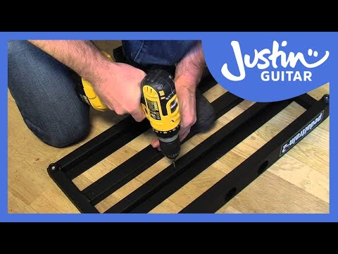Setting up a PedalTrain with Voodoo Lab Pedal Power Pro II (Guitar Lesson GG-123)