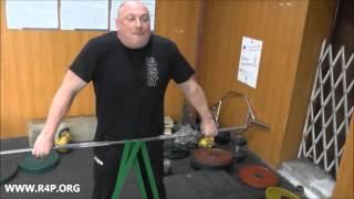 Рашид Ицаев о завтраке и о тренировках с резиновыми петлями RUBBER4POWER