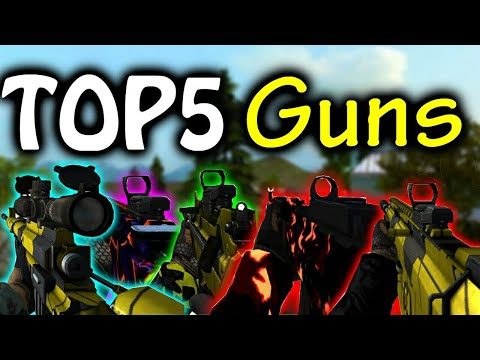 [Bullet Force] Top 5 Guns Available On Credits !!!