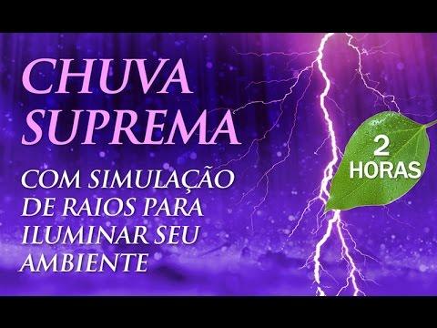 Som de CHUVA SUPREMA  - Música para Dormir e Relaxar (2h00)