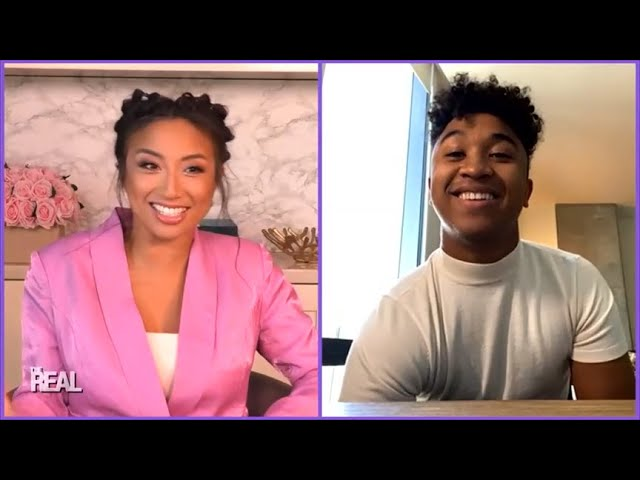 Full Interview: Jeannie's 'DWTS' Partner Brandon Armstrong Gives Us the Inside Scoop!