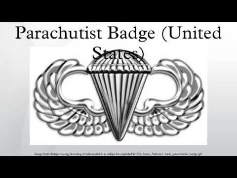 Parachutist Badge (United States)
