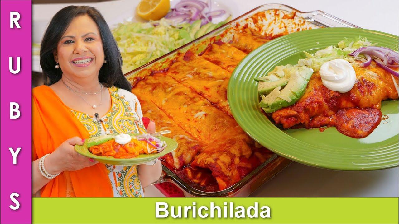 Meixican Burichiladas Juicy Burritos Recipe in Urdu Hindi - RKK