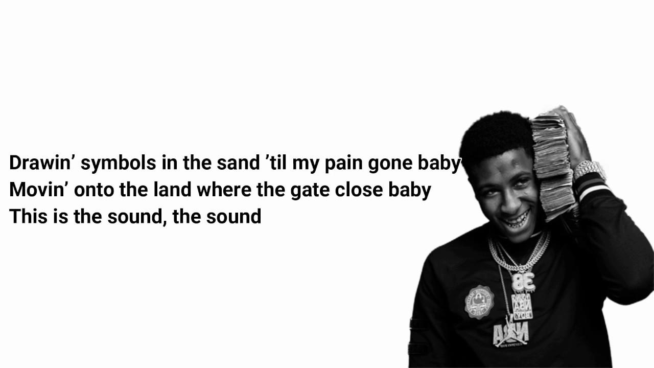 Youngboy Never Broke Again Drawing Symbols Lyrics Youtube