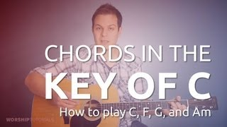 C (C, F, G)ses Telleri oynamayı Gİtar Dersi: ve Ben