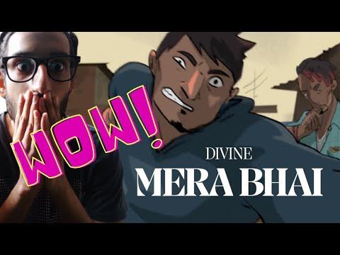 DIVINE - MERA BHAI REACTION | Prod. by Karan Kanchan | Official Music Video |THE SAVAGE VIBE REACTS
