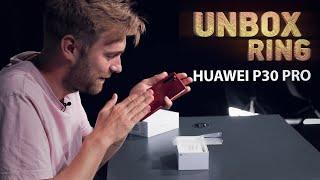 DAR DAUGIAU TIESOS APIE HUAWEI   HUAWEI P30 PRO! Amber Sunrise   Unbox Ring apžvalga
